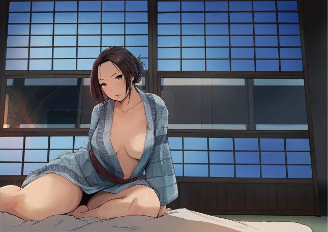 【エロ同人誌】寝取られた人妻と寝取られる人妻【無料 エロ漫画】(50)