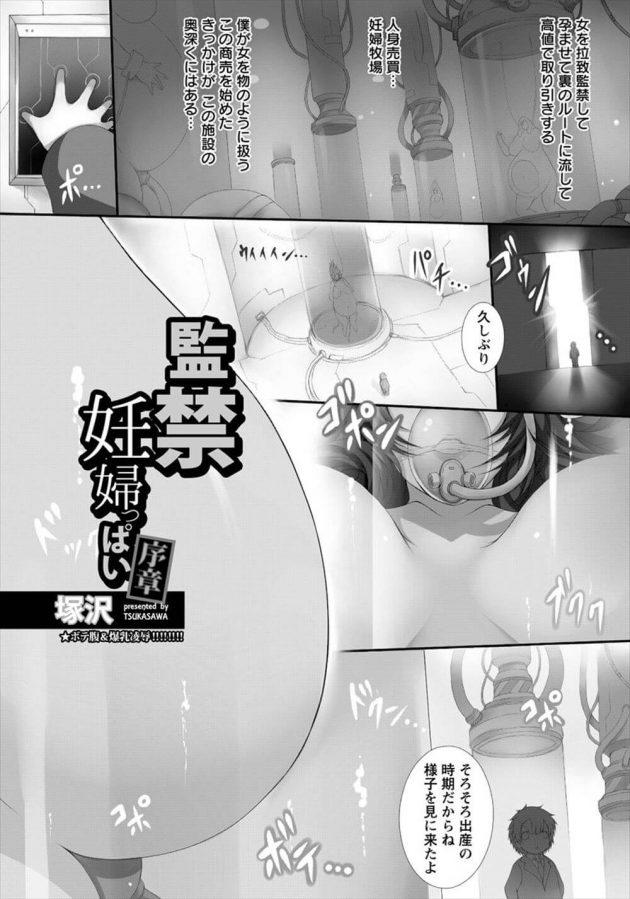 【エロ漫画】別の男と浮気セックスしている母を息子が監禁拘束し凌辱することに【無料 エロ同人】(1)